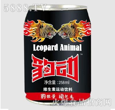 豹动维生素运动饮料258ml