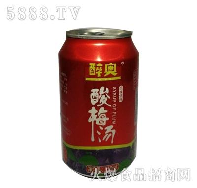醉奥酸梅汤风味饮料罐装310ml