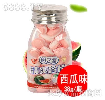 明之堂清爽含片西瓜味38g