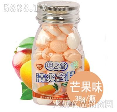 明之堂清爽含片芒果味38g