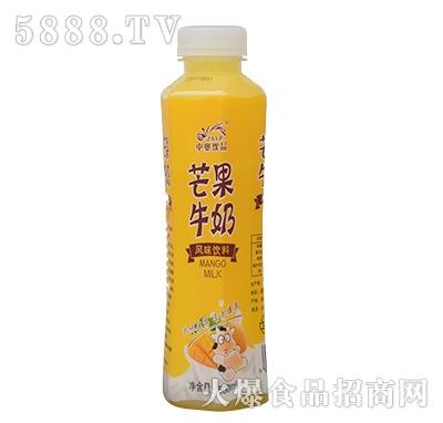 中奥饮品芒果牛奶500ml