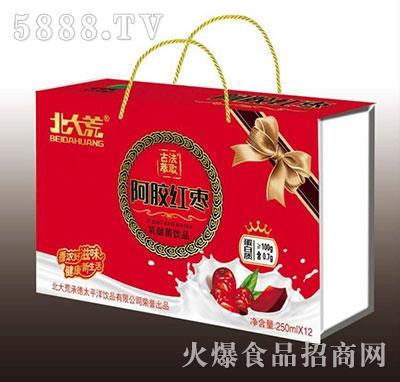 北大荒阿胶红枣乳酸菌饮品250mlx12