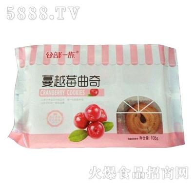 蔓越莓曲奇饼干108g