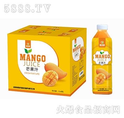 豫浪鑫呆小萌芒果汁果汁饮料1Lx8瓶