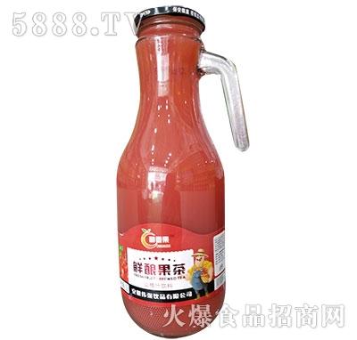 醇香果鲜酿果茶山楂汁1.5L