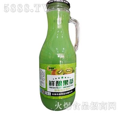 醇香果鲜酿果茶猕猴桃汁1.5L