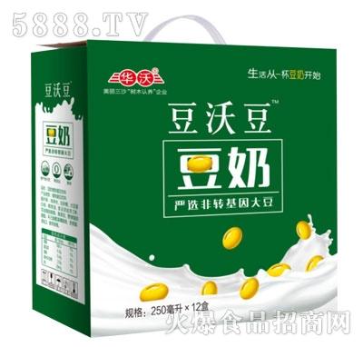 豆沃豆豆奶250mlX12