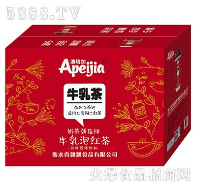 香优优牛乳泡红茶风味饮料
