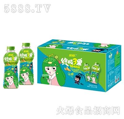 乐小滋终极3果哈密瓜果汁饮料500mlx15瓶