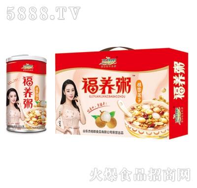 杰格�O福养粥桂圆莲子粥(箱)