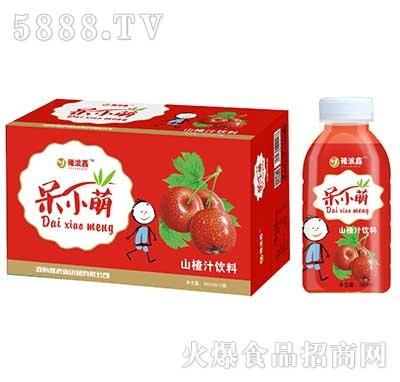豫浪鑫呆小萌山楂汁果汁饮料380mlx15瓶
