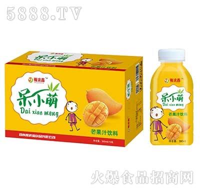 豫浪鑫呆小萌芒果汁果汁饮料380mlx15瓶