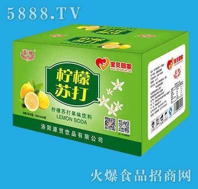 蓝翔柠檬苏打饮料400mlx24瓶