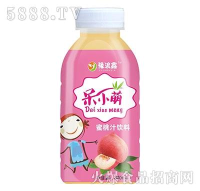 豫浪鑫呆小萌蜜桃汁饮料380ml