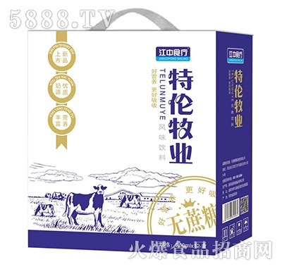 江中食疗特伦牧业饮品250mlx12盒