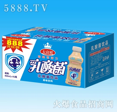 大富桂乳酸菌450mLX15瓶