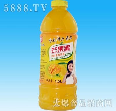 椰鲜世家芒果蜜1.5L瓶