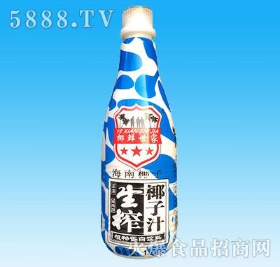 椰鲜世家1.25L生榨椰子汁