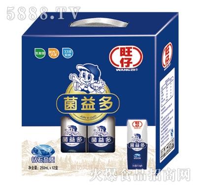 旺仔菌益多酸奶250mlx12盒