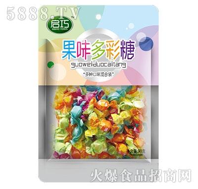 启巧果味多彩糖80g