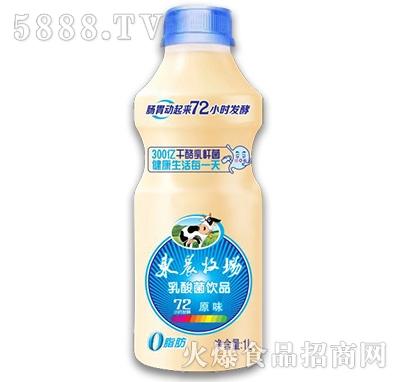 东辰牧场乳酸菌饮品原味1L