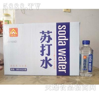苏打水无糖无汽苏打水饮料350mlx24