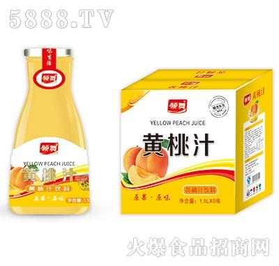 领舞黄桃汁1.5Lx6瓶