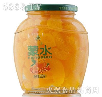 蒙水糖水桔子罐头538g