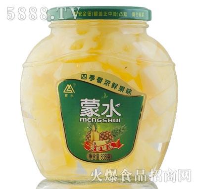 蒙水菠萝罐头838g