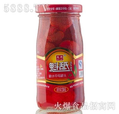 魁舐糖水草莓罐头248g