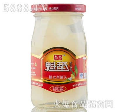 魁舐糖水梨罐头248g