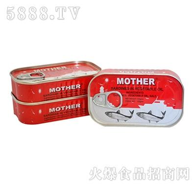 海山油浸沙丁鱼罐头