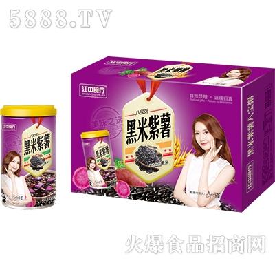 江中食疗黑米紫薯八宝粥