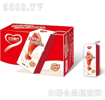 江中食疗花生牛奶250mlx24盒