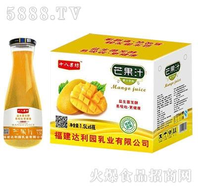 十八果坊芒果汁1.5Lx6瓶