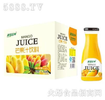 冰纷清纯芒果汁1LX6瓶