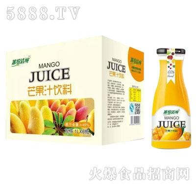 冰纷清纯芒果汁饮料1LX6