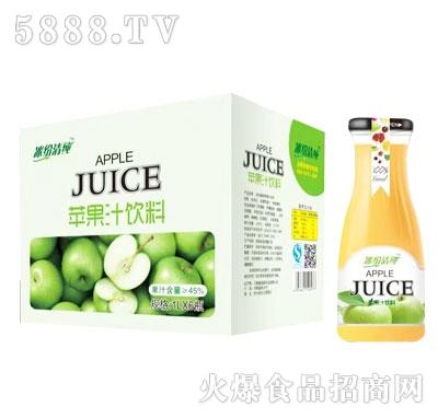 冰纷清纯苹果汁饮料1LX6瓶
