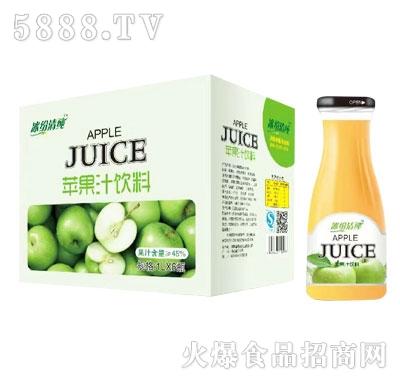 冰纷清纯苹果汁1.5LX6