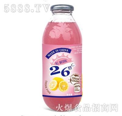 26度C柠檬番茄复合果蔬汁饮料