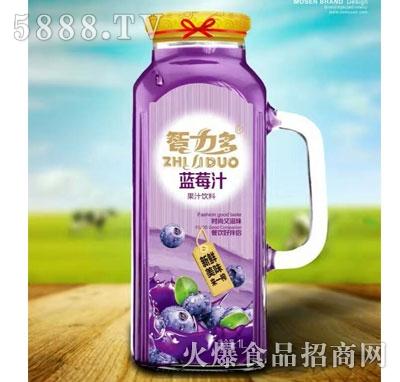 智力多蓝莓汁1L