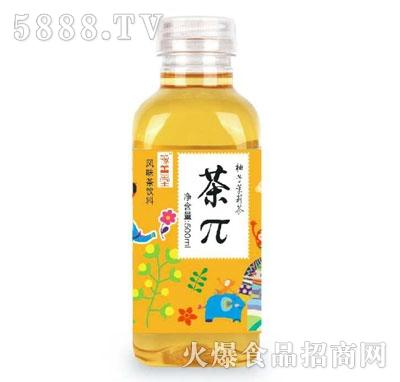 豫善堂茶π柚子茉莉茶500ml