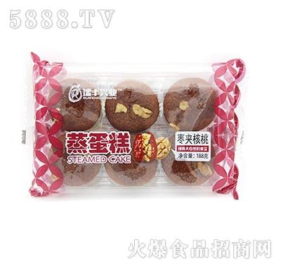 瑞丰兴业蒸蛋糕枣夹核桃