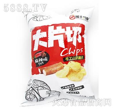 瑞丰兴业大片切手工山药脆片麻辣味