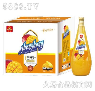 真众生榨芒果汁1.5LX6瓶