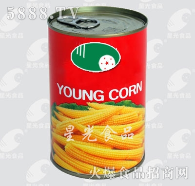 星光食品玉米笋(红)