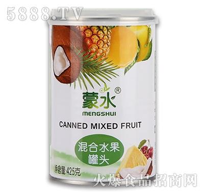 蒙水混合水果罐头425g