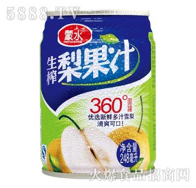 蒙水生榨梨果汁248ml