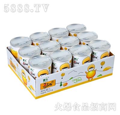 喜食儿黄桃罐头12罐