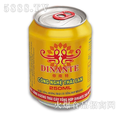 帝南特综合水果味饮料250ml